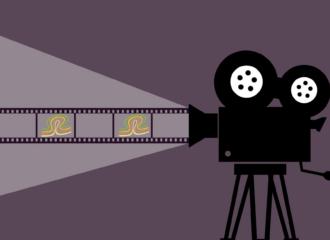 Filmprojektor mit tuuwi-Logo