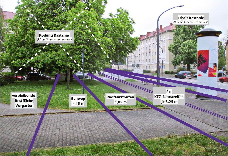 Geplanter Umbau für die Stadtbahn 2020
